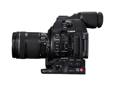 Canon EOS C100 MARK II 24-105 IS STM