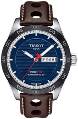 Мужские швейцарские наручные часы Tissot T-Sport PRS 516 T100.430.16.041.00
