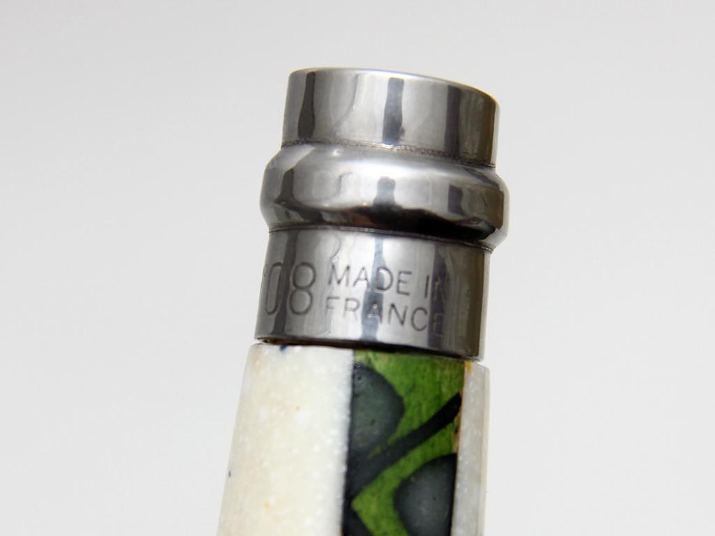 Нож авторский Opinel 08 клинок полированный гильоширование