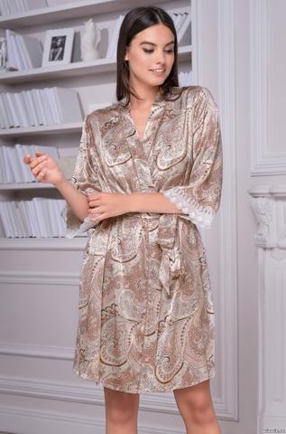 Халат женский шелковый Mia-Amore CLEMENTINA КЛЕМЕНТИНА 3453