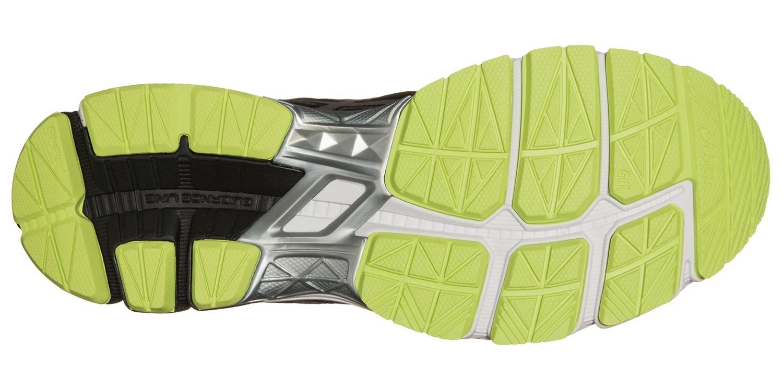 Мужские кроссовки для бега Asics GT-1000 4 (TT5A2N 9093) черные фото