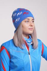 Лыжная шапка Nordski Logo Blue
