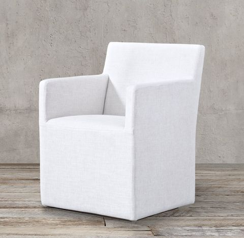 Ellison Track Arm Fabric Armchair