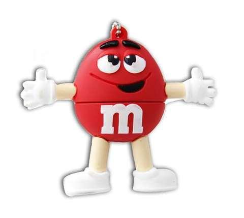 USB-флешка M&M's красный
