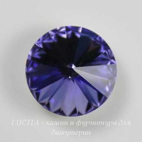 1122 Rivoli Ювелирные стразы Сваровски Tanzanite (14 мм)