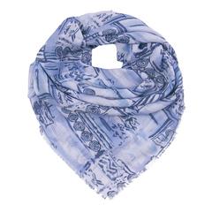 FC815-2 платок женский, голубой