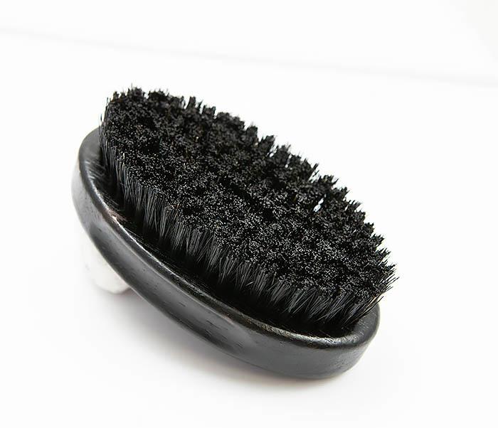 RAZ349 Большая щетка для бороды из щетины кабана