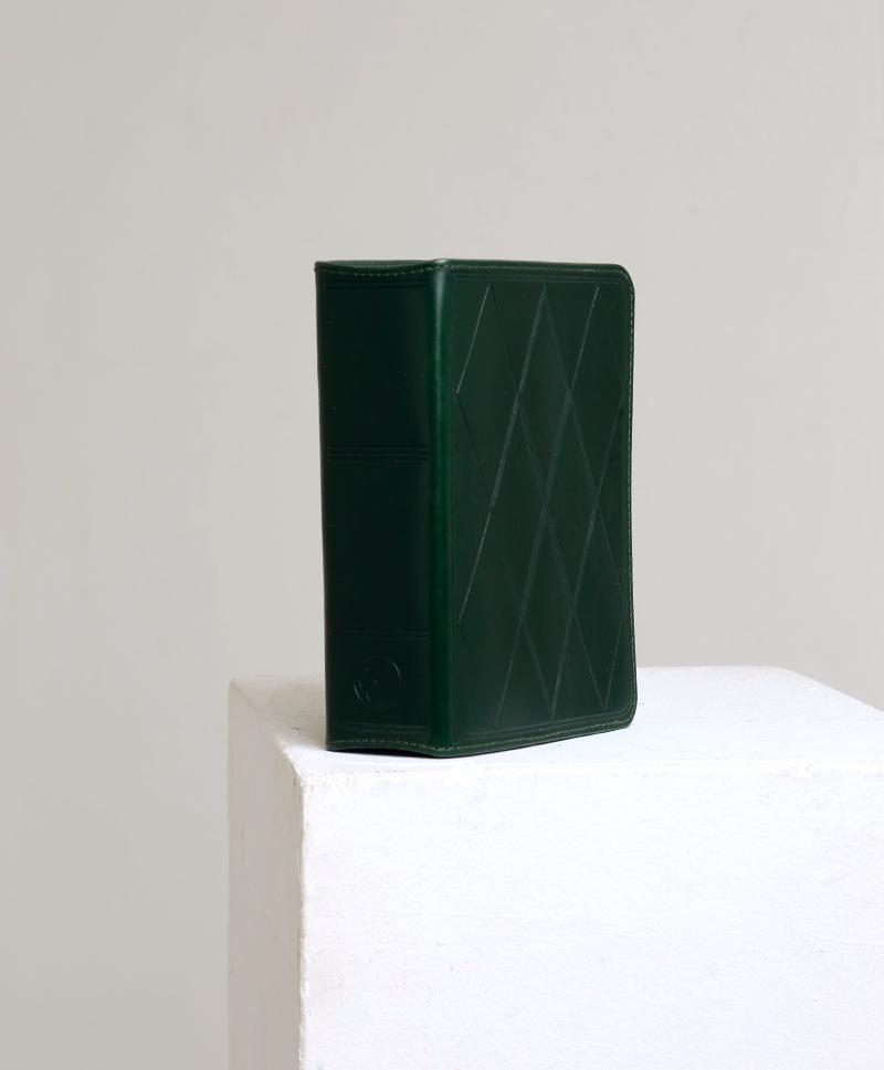 Сумка прямоугольная зеленая