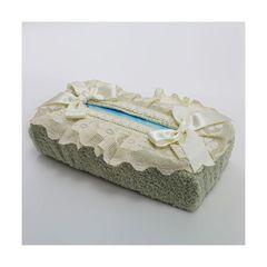 Салфетница для бумажных полотенец 12х24 Old Florence Buratto зеленая