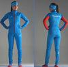 Элитный утеплённый лыжный костюм Nordski Elite RUS Blue женский