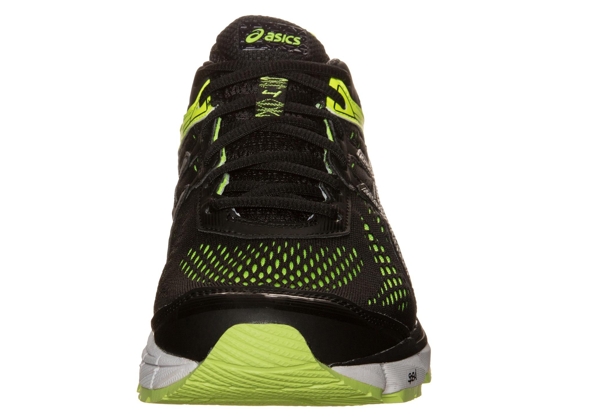 Мужские беговые кроссовки  Asics GT-1000 4 (T5A2N 9093) черные фото