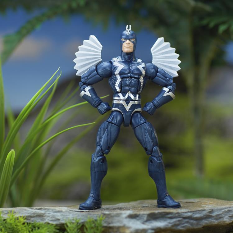 Фигурка Черный гром (Marvel's Black Bolt) Marvel Legends 15 см