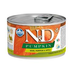 Фармина N&D Pumpkin 140 гр консервы для собак мелких пород кабан с тыквой и яблоком