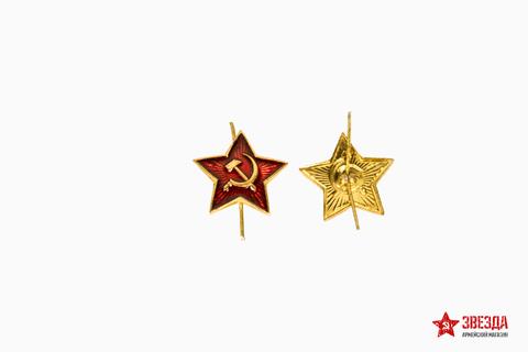 Красная звездочка на пилотку