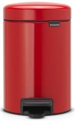 Ведро для мусора Brabantia NewIcon 3л пламенно-красное