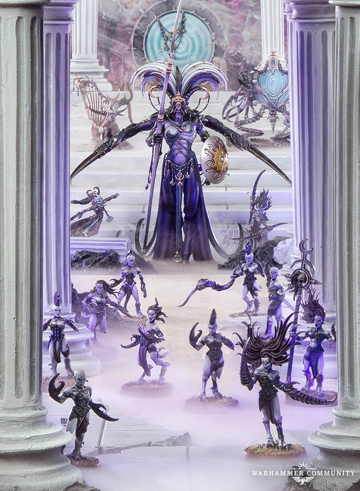 Daemons of Slaanesh Keeper of Secrets / Хранитель секретов
