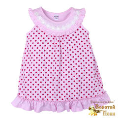 Сорочка для девочки (2-6) 190604-BK1218P