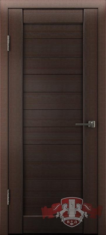 Л6ПГ4 Венге, Дверь межкомнатная,Владимирская Фабрика Дверей