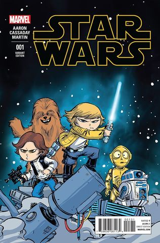 Star Wars (2015) #1 - Skottie Young Cover Variant