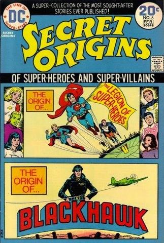 Secret Origins of Superheroes and Supervillains #6