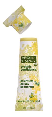 Органический дезодорант, Лимон и Масло Чайного Дерева Organic Essence