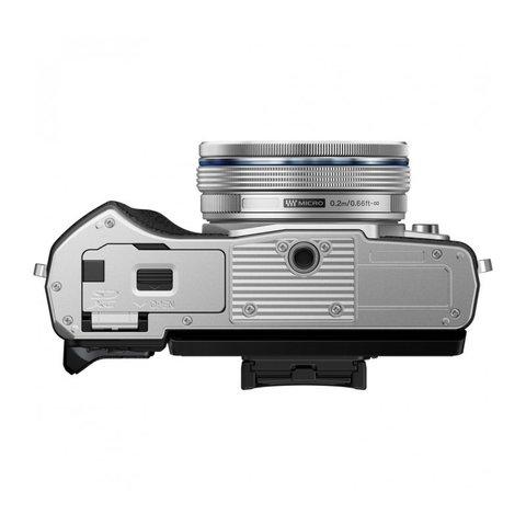Olympus OM-D E-M10 Mark III Double Kit 14-42 EZ 40-150 R silver