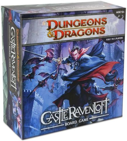 Настольная игра Dungeons & Dragons: Castle Ravenloft (D&D: Равенлофт)