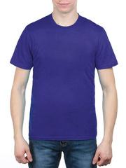3366-11 футболка мужская, синяя