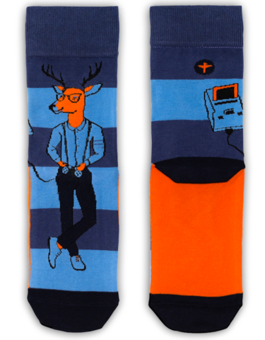 Tatem Socks GAMER DEER