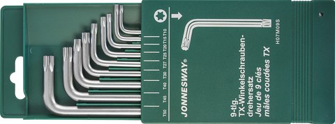 H07M09S Комплект угловых ключей