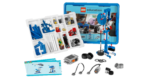 LEGO Education: Набор «Технология и физика» 9686 — Simple & Powered Machines Set — Лего Образование