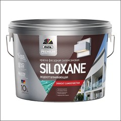 Краска для фасада Dufa Premium SILOXANE База 3 (Прозрачный)