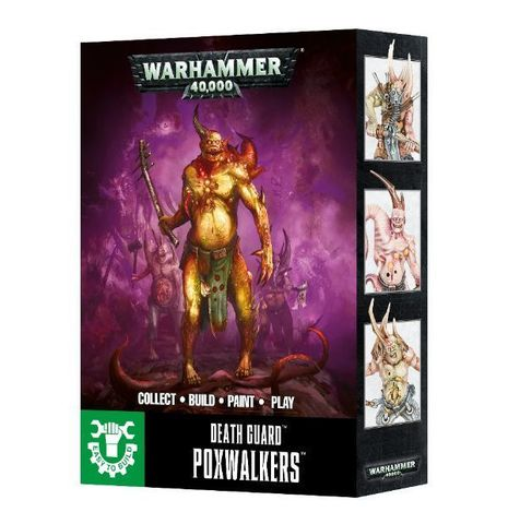 Easy To Build: Death Guard Poxwalkers