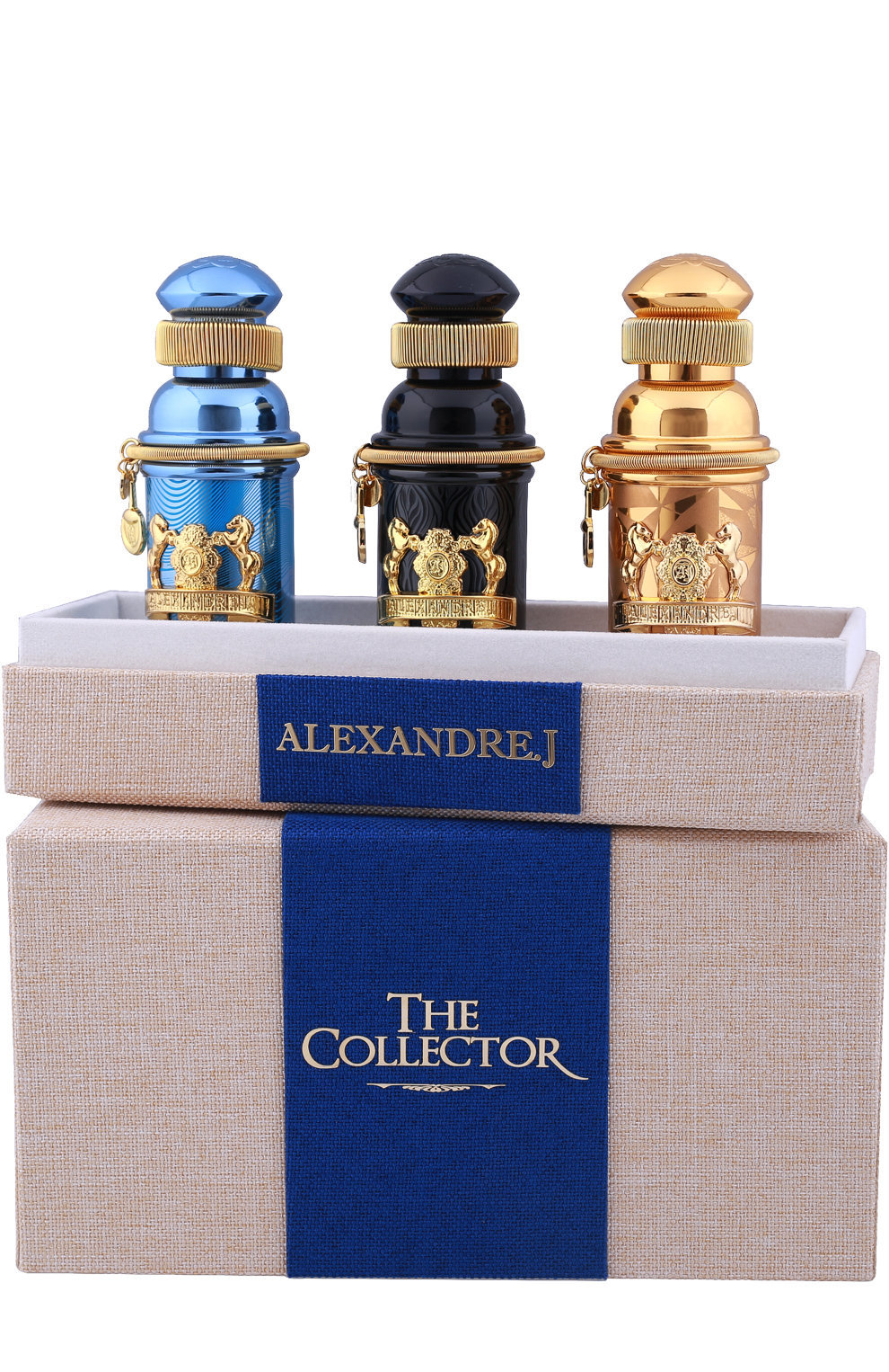 ALEXANDRE.J Набор The Collector 3 шт. по 8мл.