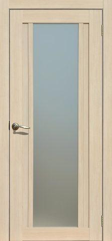 > Экошпон Двероникс 05, стекло матовое, цвет капучино, остекленная