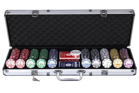 Дипломат для покера ГД4 (500 фишек)