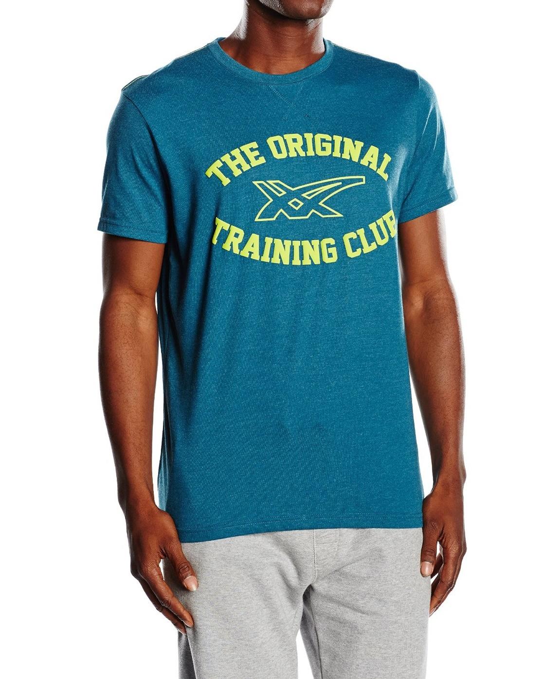 Мужская футболка Asics Graphic SS Top (125074 8125) синяя фото