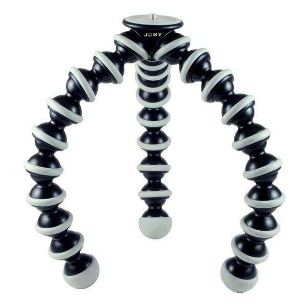 Гибкий штатив Joby GorillaPod SLR-Zoom GP3-A1EN (BWW GP3-01WW) для фотоаппаратов Canon, Nikon, Sony