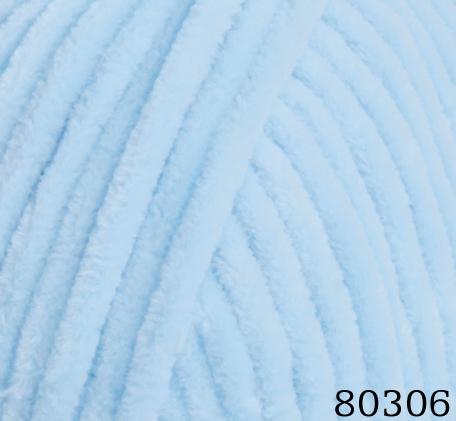 Пряжа Himalaya Dolphin Baby арт. 80306 нежно-голубой