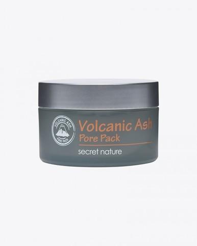 Очищающая маска для лица с вулканическим пеплом - Secret Nature Volcanic Ash Pore Pack