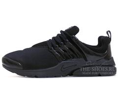 Кроссовки Мужские Nike Air Presto BR All Black