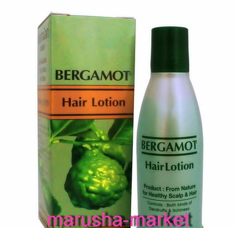 Тайский лосьон против выпадения волос Bergamot, 90 мл