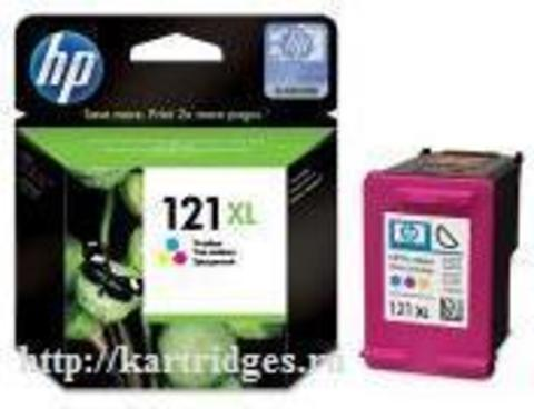 Картридж Hewlett-Packard (HP) CC644HE №121XL