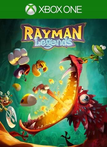 Xbox Store Россия: Xbox One Rayman Legends (цифровой ключ, русская версия)