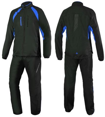 Костюм беговой Noname Exercise Black/Blue