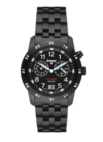 Купить Наручные часы Traser Classic Alarm BD Pro Blue 100264 по доступной цене