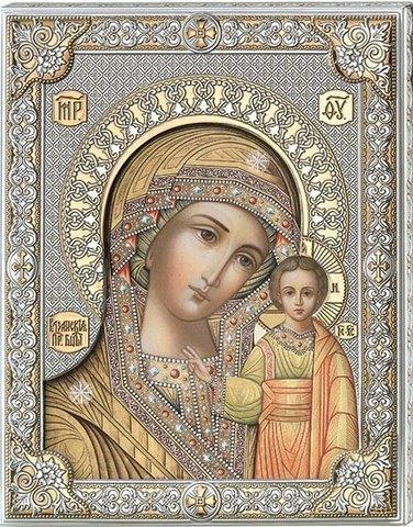 Икона Казанская Божья Матерь (12*15,5)
