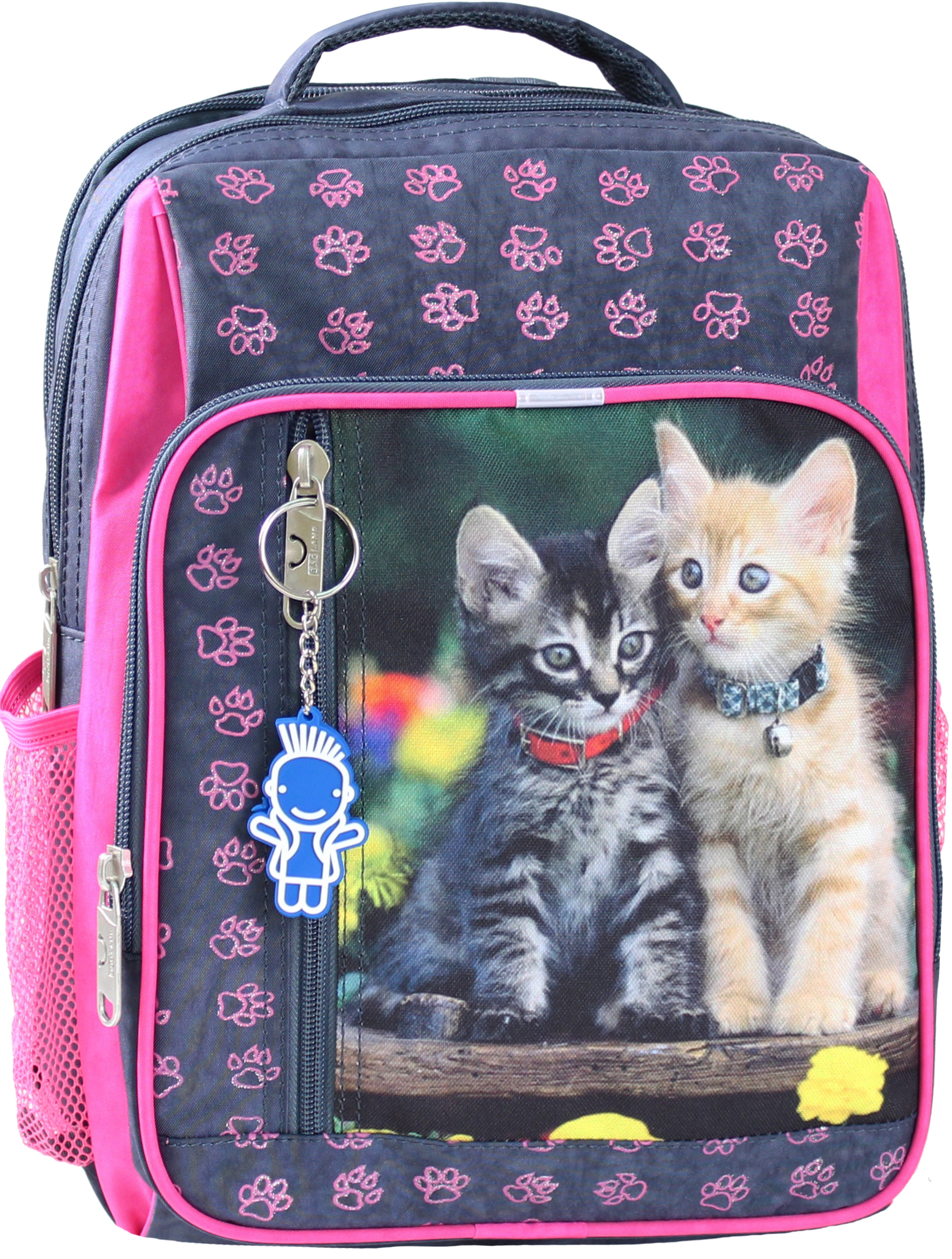 Школьные рюкзаки Рюкзак школьный Bagland Школьник 8 л. 321 сiрий 143 д (00112702) IMG_0315.JPG