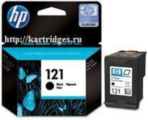 Картридж Hewlett-Packard (HP) CC640HE №121