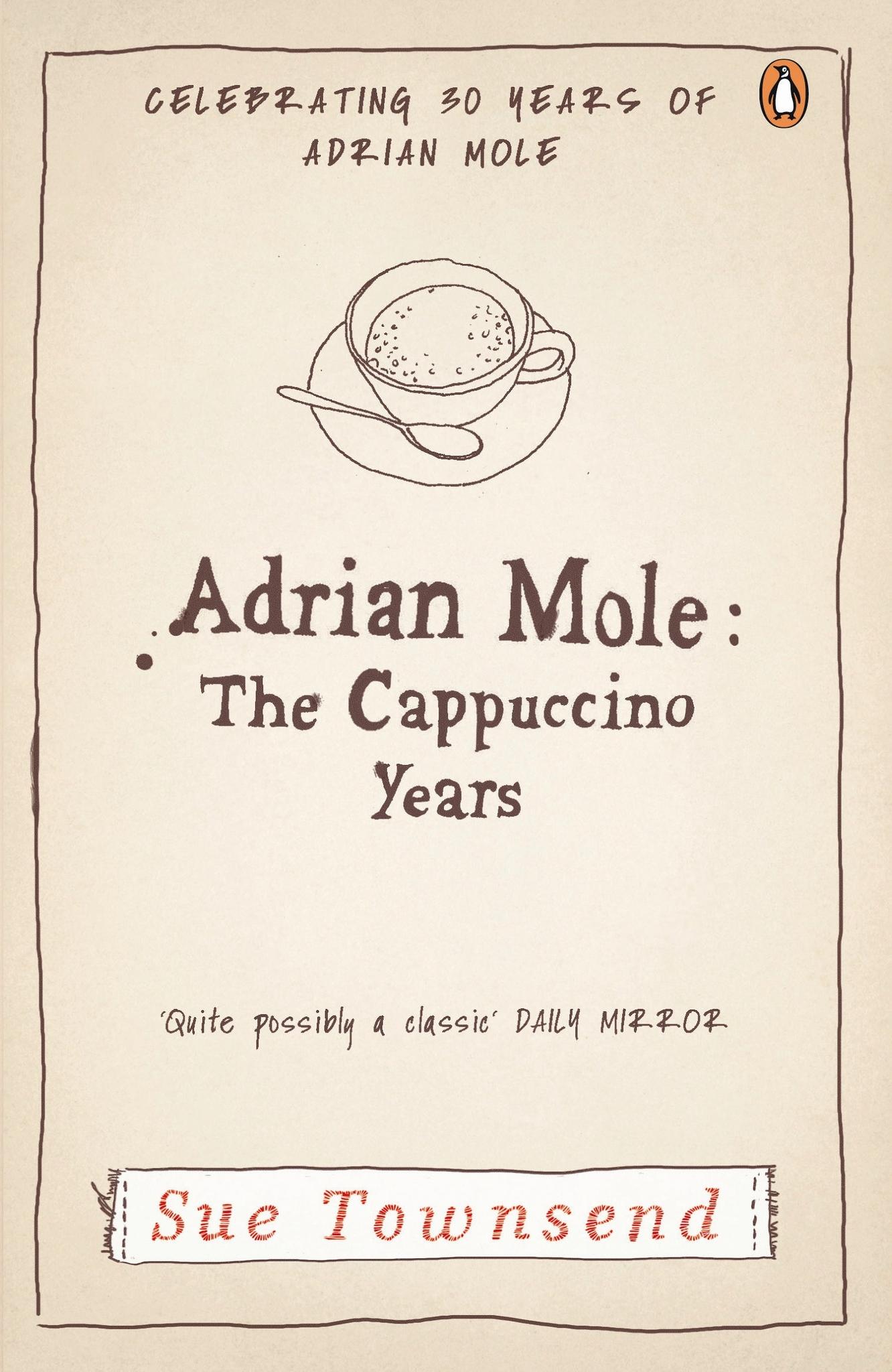 Kitab Adrian Mole.The Cappuccino Years | Sue Townsend